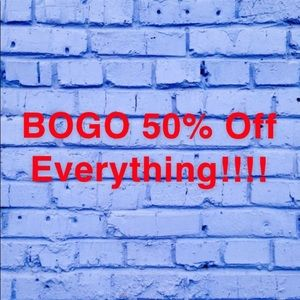 ❗️BOGO 50% Off ❗️